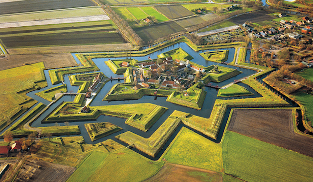 Fort Bourtange in Netherlands, by Jan Koster