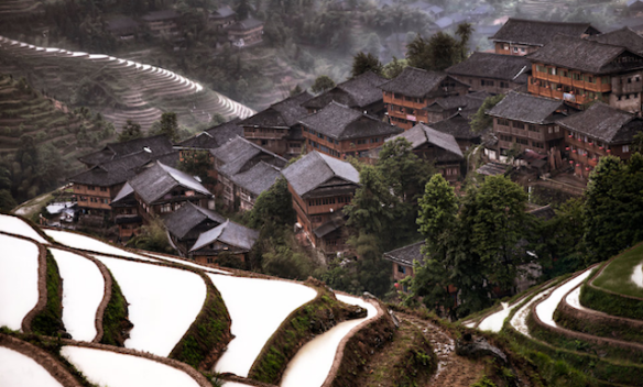 Hidden village in Southern China, by Christian Ortiz