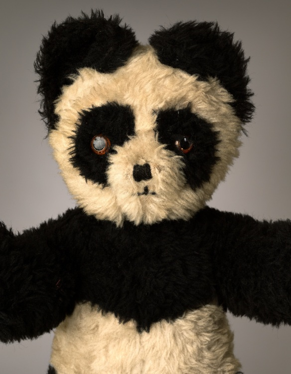 "Panda, Age: 50, Height: 16"", Belongs to: Mark Nixon"