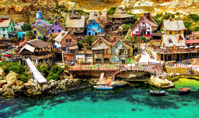 Popeye Village in Malta, by Mosin