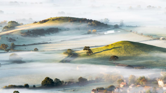Village in Southwest England, by Bob Small