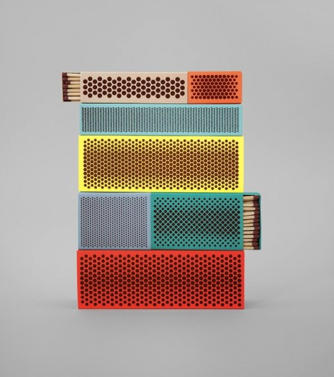 Strike Matchboxes by Shane Schneck and Clara von Zweigbergk for Hay (1)